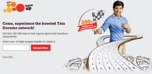 Tata Docomo 100 Mb Free internet | Mobile Data | Reload Now