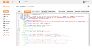 Improvements to the Blogger template HTML editor